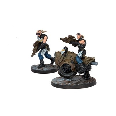Enforcer Pathfinder Bike - Deadzone - Mantic Games