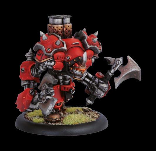 Khador Berserker Heavy Warjack Box - Warmachine - Privateer Press