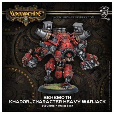 Khador Behemoth - Unique Heavy Warjack Box (plastic) - Warmachine - Privateer Press
