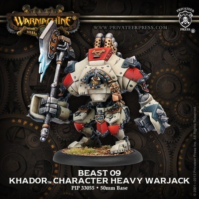 Khador Beast-09 Character Heavy Warjack Box - Warmachine - Privateer Press