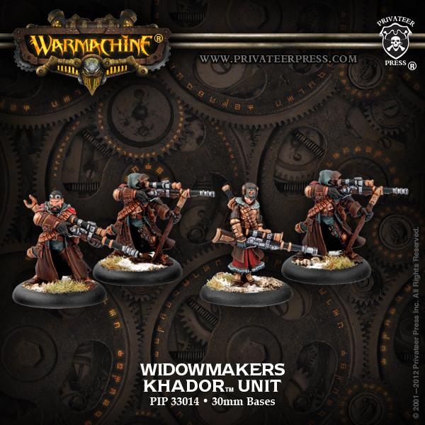 Khador Widowmaker Unit Box Box - Warmachine - Privateer Press