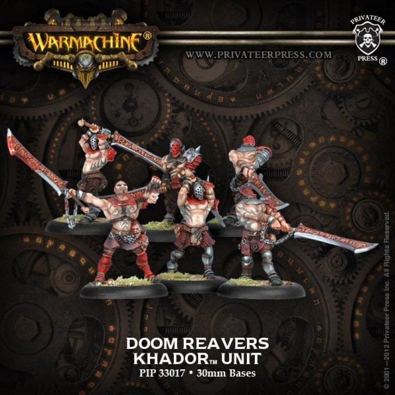 Khador Doom Reavers Unit Box (6) - Warmachine - Privateer Press