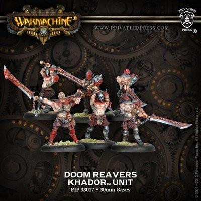 Khador Doom Reavers Unit Box (6) - Warmachine - Privateer Press