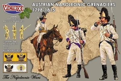 Austrian Napoleonic Grenadiers 1798-1815 - Victrix