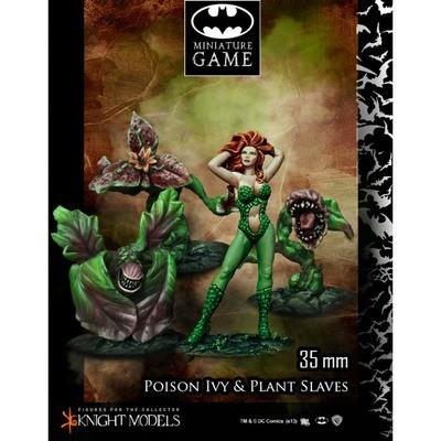 Poison Ivy & Plants Slaves - Batman Miniature Game