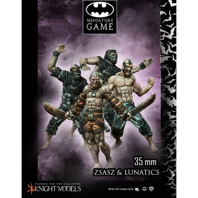 Victor Zsasz And Arkham Lunatics - Batman Miniature Game