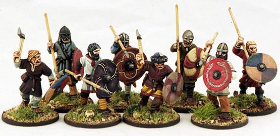 Bondi (8) Warriors 1 pt - SAGA - Wikinger