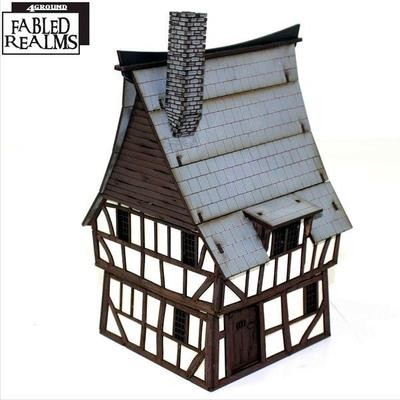 Mordanburg Highstreet House 3 - Fabled Realms - 4Ground