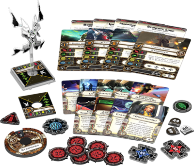 Star Wars: X-Wing Sternenviper Erweiterung-Pack Deutsch