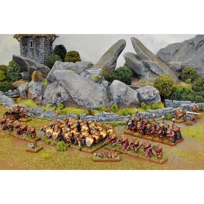 Dwarf One Player Battle Set - Dwarfs - Kings of War - Mantic Games