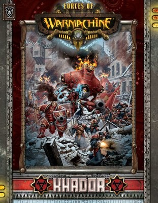 Forces of Warmachine: Khador (Hardcover dt.) - Warmachine - Privateer Press