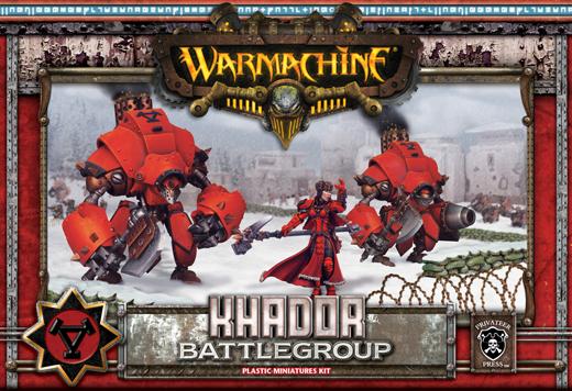 Khador Battlegroup Box (plastic) - Starter - Warmachine - Privateer Press
