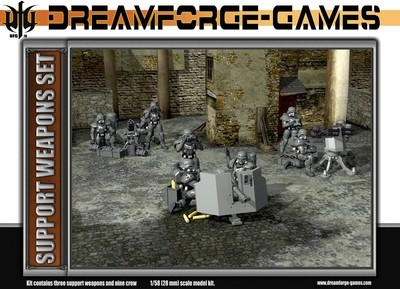 Eisenkern Stormtrooper Support Weapons - DreamForge Games - Wargames Factory