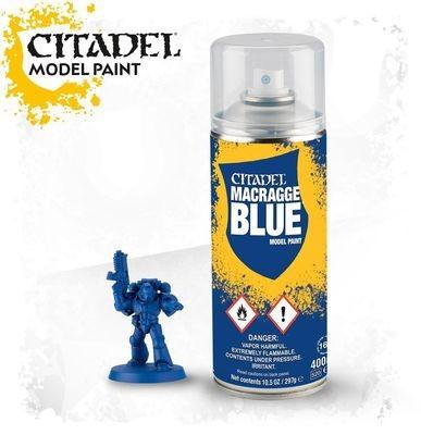 MACRAGGE BLUE SPRAY Farbspray - Citadel - Games Workshop