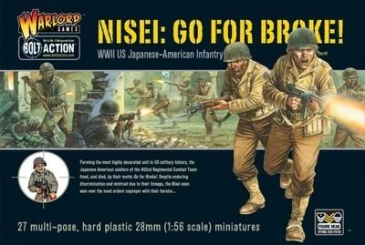 Go For Broke! Nissei Infantry - American - Bolt Action