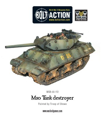 M10 US Tank Destroyer - American - Bolt Action