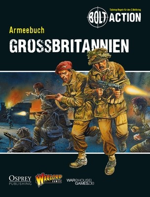 Armeebuch Grossbritannien - Bolt Action - deutsch