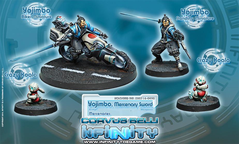 Yojimbo, Mercenary Sword - Mercenaries - Infinity
