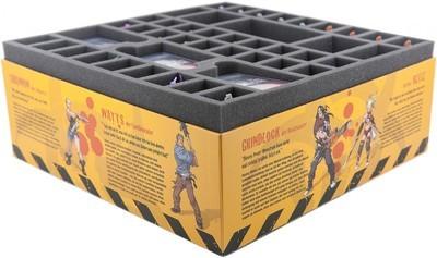 Schaumstoffeinlage Set für Zombicide Staffel 2 Prison Outbreak - Feldherr