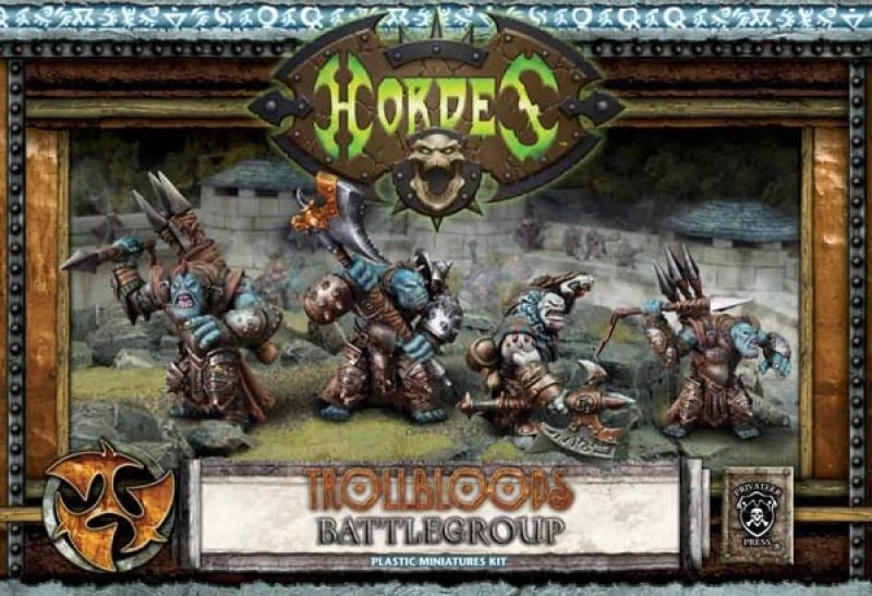 Trollblood Warpack Starter (plastic) - Battlegroup - Hordes - Privateer Press