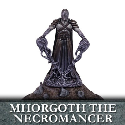 Mhorgoth the Necromancer - Untote - Kings of War - Mantic Games