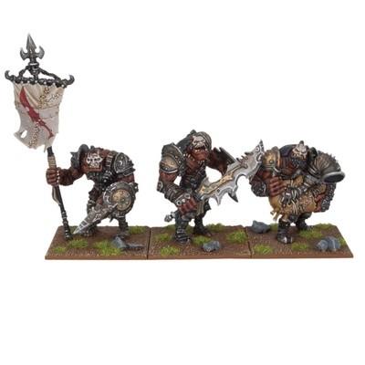 Ogre Command Group - Oger - Kings of War - Mantic Games