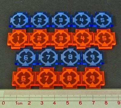 Target Lock Token Set #1-9 - Litko