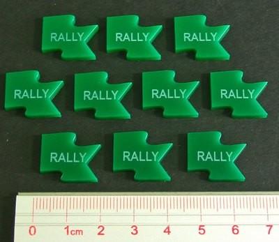 Rally Tokens - Grün - Litko