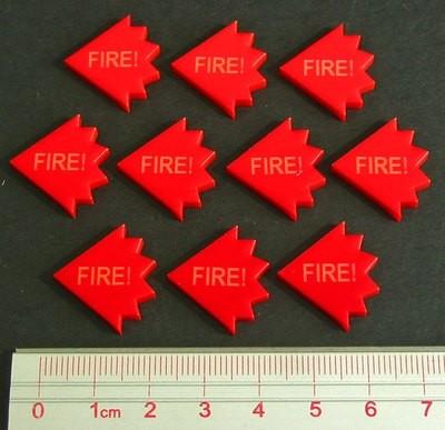 Fire Tokens - Rot - Litko