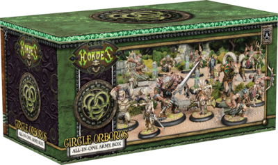 Circle Orboros All in One Army Box - Hordes - Privateer Press