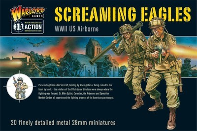 US Airborne - Screaming Eagles (21) - American - Bolt Action