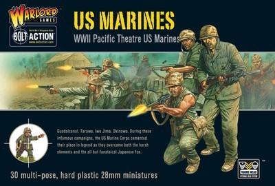 US Marine Corps (30) - Plastic Box Set - American - Bolt Action