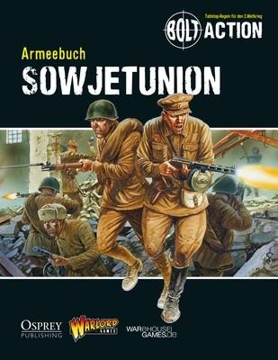 Armeebuch Sowjetunion - Bolt Action - deutsch