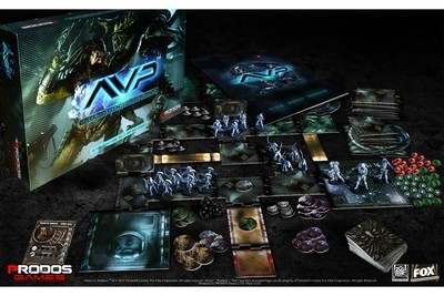 Aliens vs Predator AvP: The Hunt Begins Boardgame - English - Prodos Games
