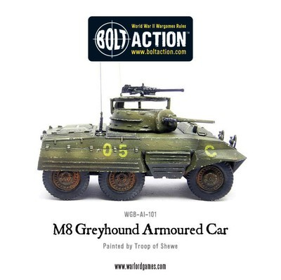 M8 Greyhound Armoured Car - American - Bolt Action