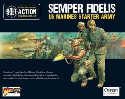 Semper Fidelis - US Marine Corps Starter Army - American -Bolt Action
