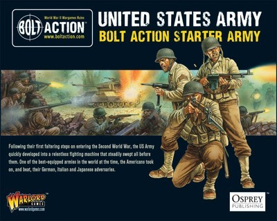 American Army (1000Pts) - Bolt Action Starter Army (Regular Infantry) - American