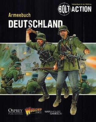 Armeebuch Deutschland - Bolt Action - deutsch