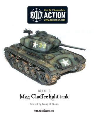 M24 Chaffee US Light Tank - American - Bolt Action