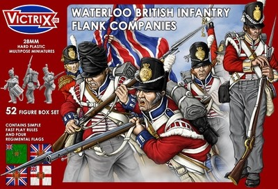 Waterloo British Infantry Flank Companies - Victrix