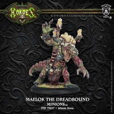 Minion Warlock - Maelok the Dreadbound Blister - Hordes - Privateer Press