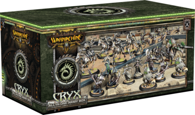 Cryx All in One Army Box - Warmachine - Privateer Press