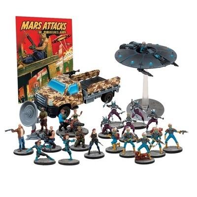 Mars Attacks - Humanity Resists - Mantic Games