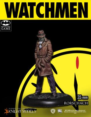 Rorschach - Watchmen - Batman Miniature Game