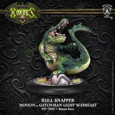Minion Gatormen Bull Snapper Light Warbeast Blister - Hordes - Privateer Press