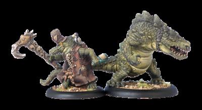 Minion Lesser Warlock Wrong Eye & Snapjaw Box - Hordes - Privateer Press