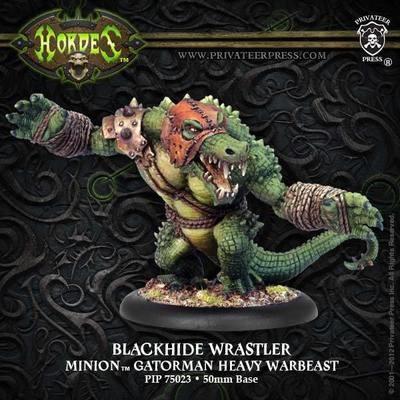 Minion Gatorman Blackhide Wrastler Heavy Warbeast Box - Hordes - Privateer Press