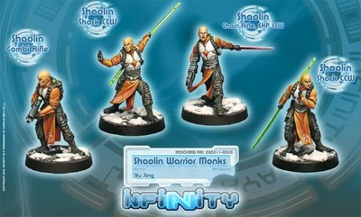 Shaolin Warrior Monks Box - Yu Jing - Infinity