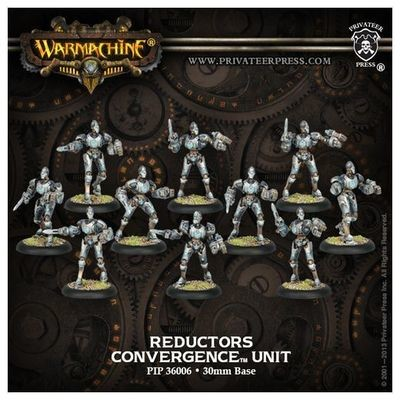 Cyriss Reductors Unit Box (10) (plastic) - Units - Warmachine - Privateer Press
