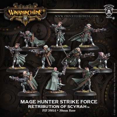 Retribution Mage Hunter Strike Force Unit Box - Units - Warmachine - Privateer Press